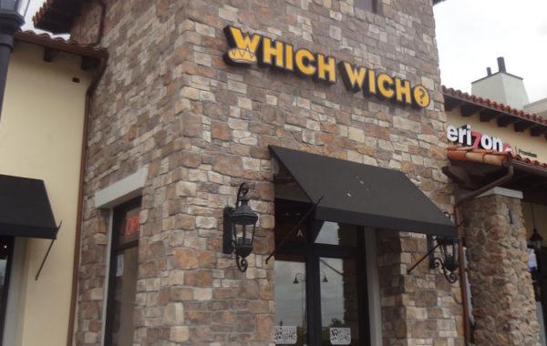 Which Wich Sandwiches At Westlake